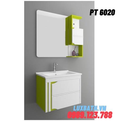 Bộ tủ chậu nhựa PVC Potentech PT 6020