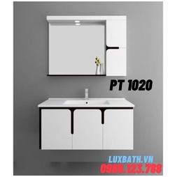 Bộ tủ chậu nhựa PVC 3 ngăn Potentech PT 1020