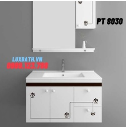 Bộ tủ chậu nhựa PVC Potentech PT 8030