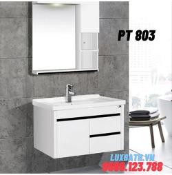 Bộ tủ chậu nhựa PVC Potentech PT 803