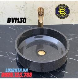 Chậu rửa lavabo màu đen Eximstone DVM30