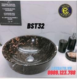 Chậu rửa lavabo màu nâu ý Eximstone BST32
