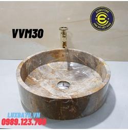 Chậu rửa lavabo màu vàng Eximstone VVM30