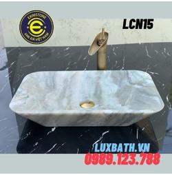 Chậu rửa lavabo chữ nhật Eximstone LCN15