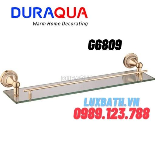 Kệ kính mạ vàng Duraqua G6809