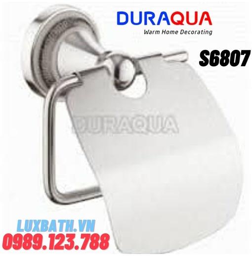 Treo giấy vệ sinh mạ bạc Duraqua S6807