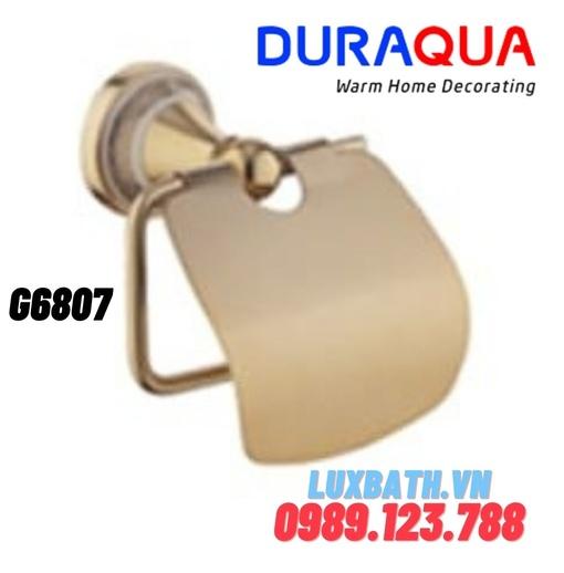 Treo giấy vệ sinh mạ vàng Duraqua G6807