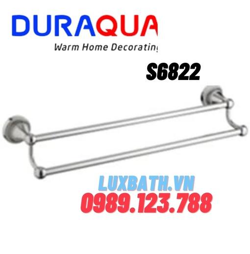 Vắt khăn đôi mạ bạc Duraqua S6822