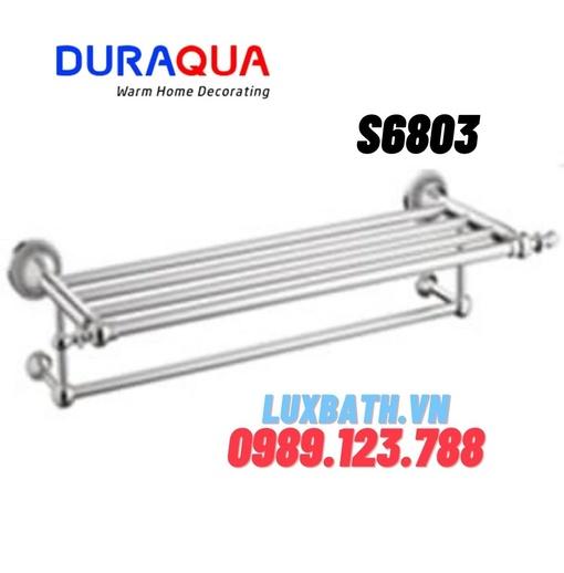 Vắt khăn giàn mạ bạc Duraqua S6803