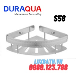 Kệ góc để đồ Duraqua S58
