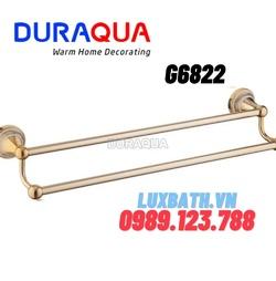 Vắt khăn đôi mạ vàng Duraqua G6822