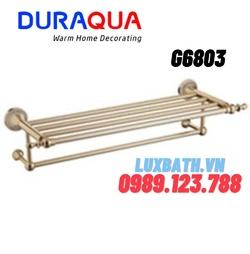 Vắt khăn giàn mạ vàng Duraqua G6803