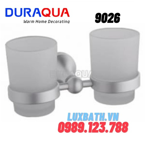 Giá để cốc đôi hợp kim nhôm Duraqua 9206