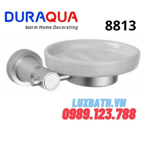 Khay đựng xà phòng đĩa sứ Duraqua 8813