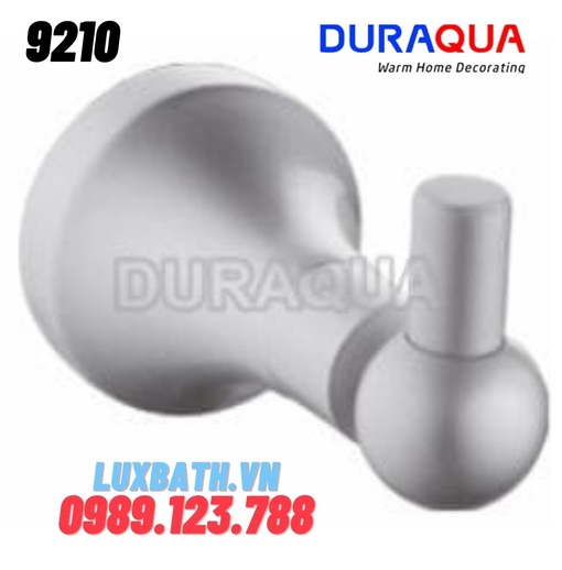 Móc áo hợp kim nhôm Duraqua 9210