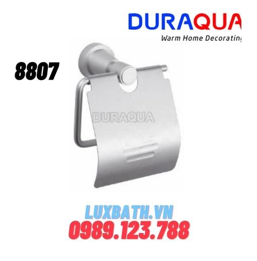 Móc treo giấy vệ sinh mạ bạc Duraqua 8807