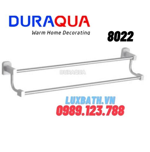 Thanh vắt khăn đôi mạ bạc Duraqua 88022