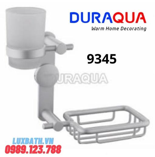 Giá cốc kết hợp giá xà phòng hợp kim nhôm Duraqua 9345