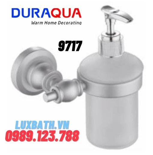 Giá để bình xà phòng hợp kim nhôm Duraqua 9717