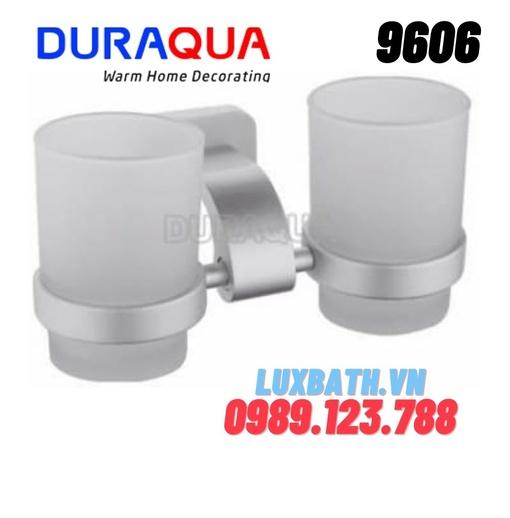 Giá để cốc đôi hợp kim nhôm Duraqua 9606