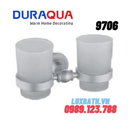 Giá để cốc đôi hợp kim nhôm Duraqua 9706