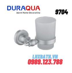 Kệ cốc đánh răng hợp kim nhôm Duraqua 9704
