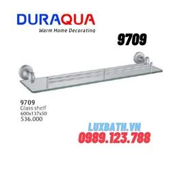 Kệ kính hợp kim nhôm Duraqua 9709