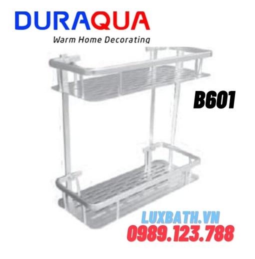 Kệ đựng đồ 2 tầng hợp kim nhôm Duraqua B601
