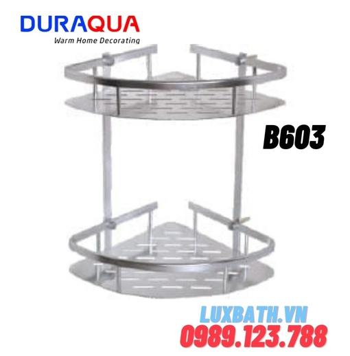 Kệ đựng đồ 2 tầng hợp kim nhôm Duraqua B603