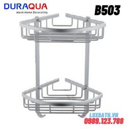 Kệ đựng đồ 2 tầng hợp kim nhôm Duraqua B503