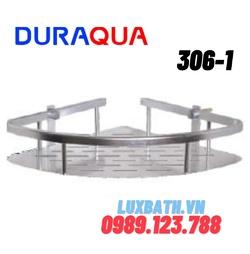 Kệ góc đơn hợp kim nhôm Duraqua 306-1