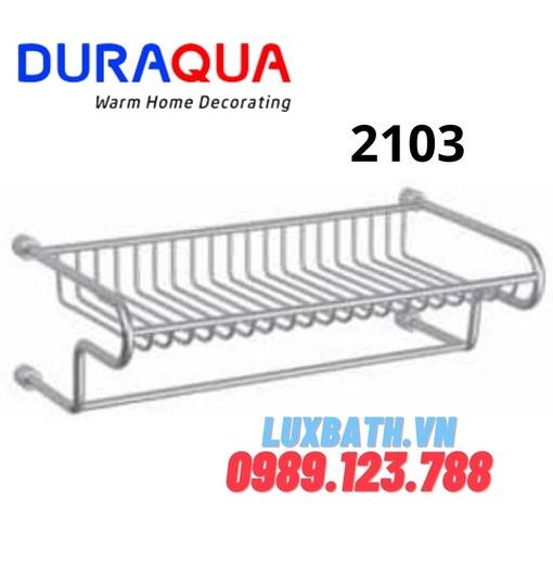 Giàn vắt khăn tắm nhôm Duraqua 2103