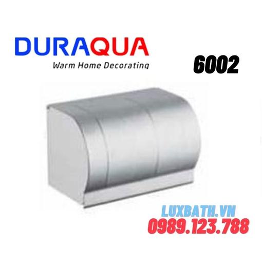 Lô giấy vệ sinh đôi hợp kim nhôm Duraqua 6002