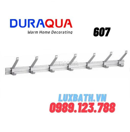 Móc treo đồ đôi 7 vấu nhôm Duraqua 607