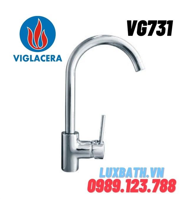 Vòi chậu rửa bát nóng lạnh Viglacera VG731 (VSD7031)