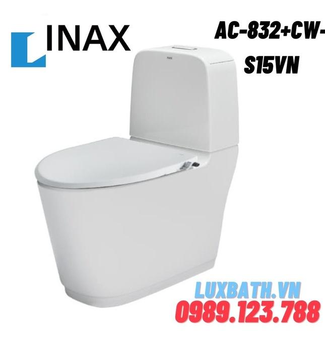 Bồn cầu 2 khối nắp rửa cơ INAX AC-832+CW-S15VN