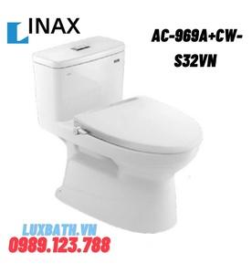 Bồn cầu 1 khối nắp rửa cơ INAX AC-969A+CW-S32VN