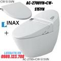 Bàn cầu 1 khối nắp rửa cơ Inax AC-2700VN+CW-S15VN