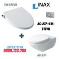 Bàn cầu âm tường nắp rửa cơ Inax AC-23P+CW-S15VN