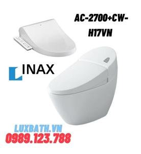 Bồn cầu 1 khối nắp điện tử INAX AC-2700+CW-H17VN