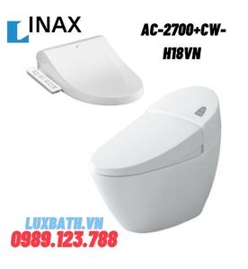 Bồn cầu 1 khối nắp điện tử INAX AC-2700+CW-H18VN