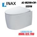 Bàn cầu âm tường nắp rửa cơ INAX AC-952VN+CW-S32VN