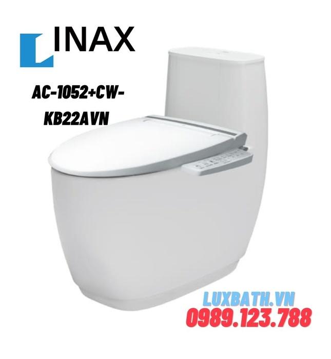 Bồn cầu 1 khối nắp điện tử INAX AC-1052+CW-KB22AVN