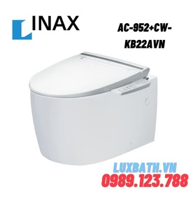 Bàn cầu treo tường nắp rửa điện tử INAX AC-952+CW-KB22AVN
