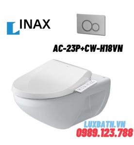 Bồn cầu âm tường nắp điện tử INAX AC-23P+CW-H18VN