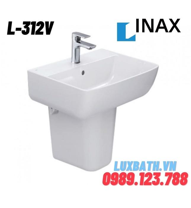 Chậu rửa mặt treo tường Inax L-312V