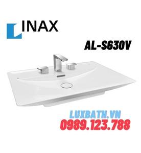 Chậu rửa mặt đặt bàn đá INAX AL-S630V