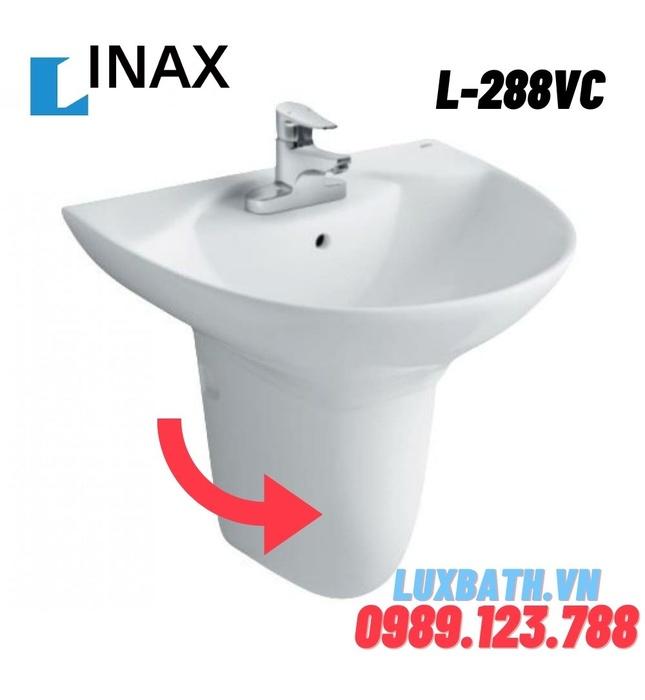 Chân lửng chậu treo tường Inax L-288VC