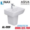 Chậu rửa mặt treo tường Inax AL-312V