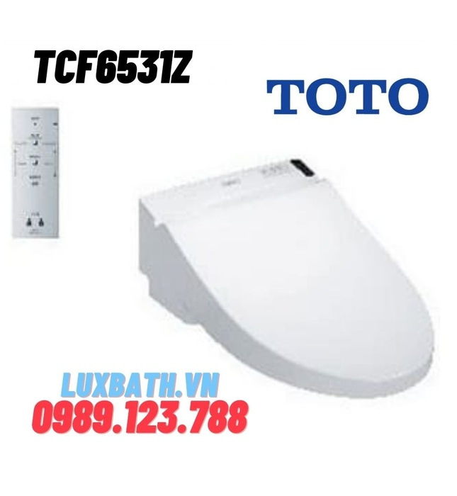 Nắp Rửa Điện Tử Washlet TOTO TCF6531Z (W6)